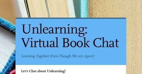 Unlearning: Virtual Book Chat